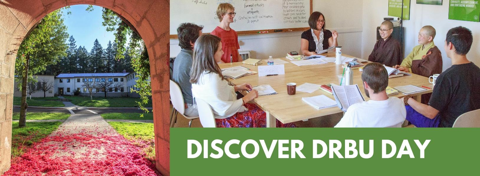 Banner for Discover DRBU day