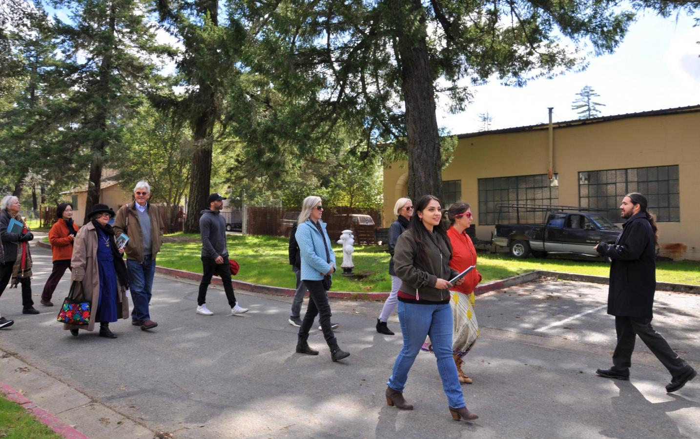 Leadership Mendocino visits DRBU for an informational tour, February 20