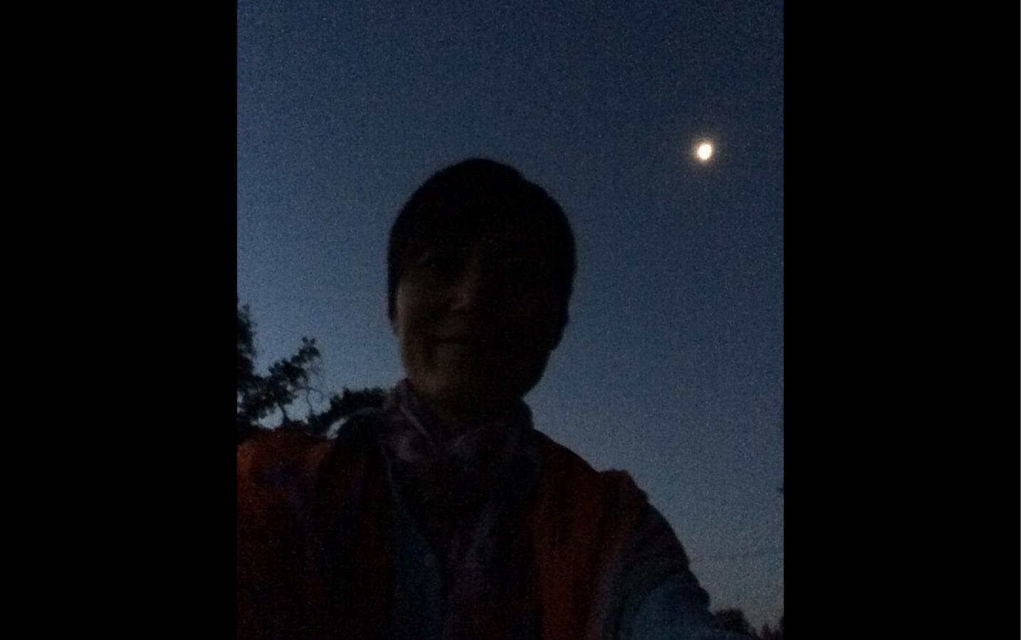 My walk from CTTB to Abhayagiri Monastery and back to Sudhana Center --Xiaojuan